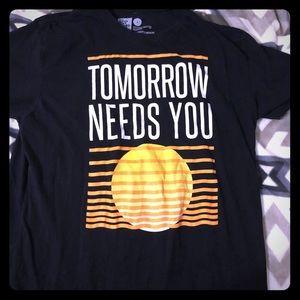 Tops - Twloha tomorrow needs you T-shirt